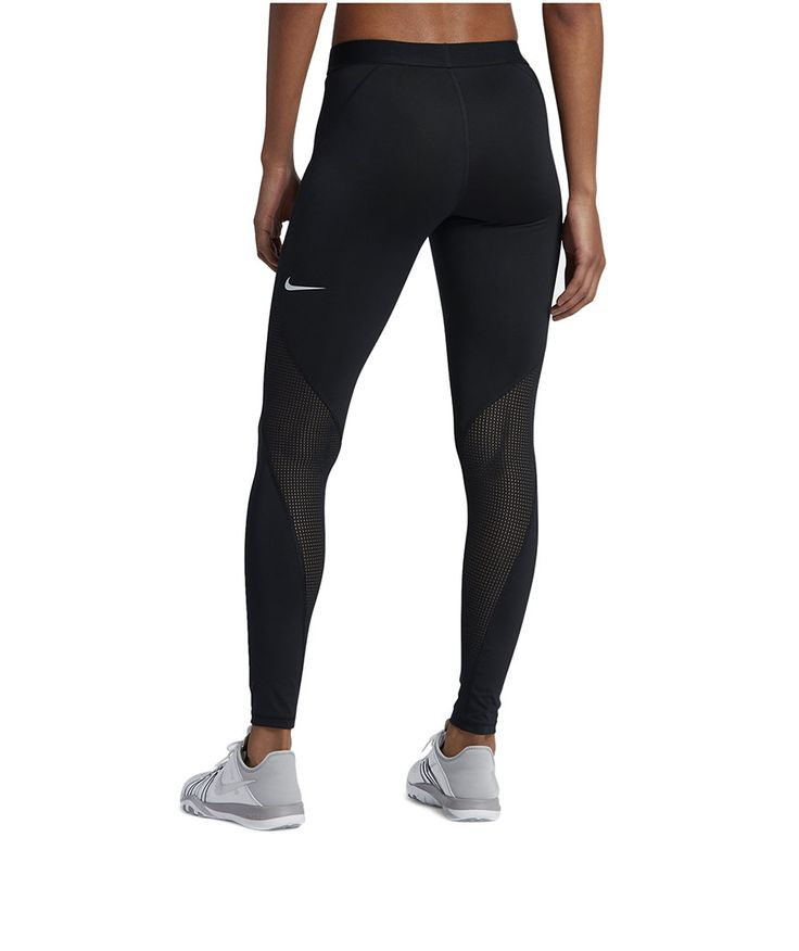 Nike Pro Hypercool Women's Training Tights | United Airlines says leggings aren't appropriate travel attire, but we beg to differ.