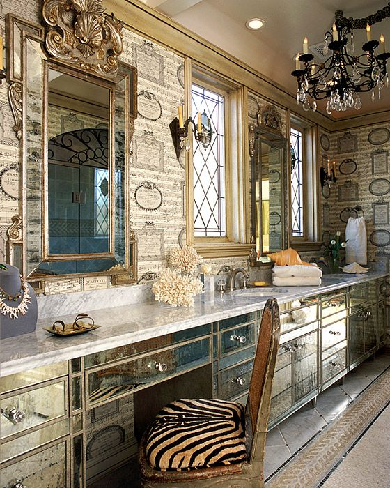 Dallas Bathroom Vanities: 17 Best Images About Mirrored Furniture On Pinterest
