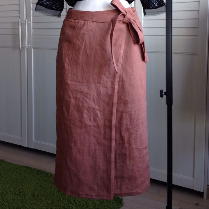 linen skirt/ Homemade Clothes