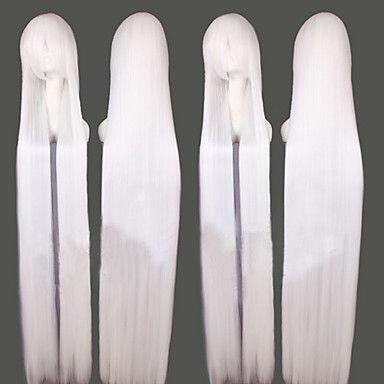 Lang hvit