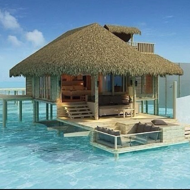 Booking my flight right now...Beach House, Dreams Vacations, Dream Vacations, Best Quality, Islands, Honeymoons, The Maldives, Places, Borabora