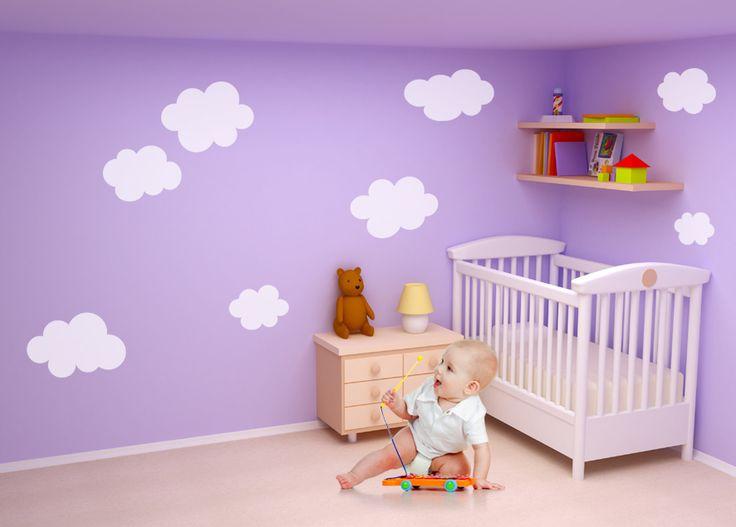 Bulutlar Bebek Ve Çocuk Odası Duvar Sticker  Fiyat: 49 TL