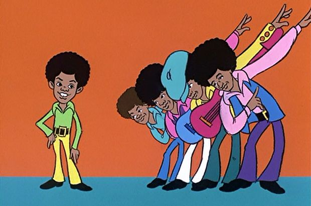 The Jackson 5ive was a Saturday morning cartoon series produced by Rankin/Bass and Motown Productions on ABC television from September 11, 1971 until October 14, 1972. It was a fictionalized portrayal of the careers of Motown recording group The Jackson 5. The series was rebroadcast in syndication through Worldvision Enterprises during the 1984-1985 Saturday morning season, during a period when Michael Jackson was riding a major wave of popularity as a solo artist.