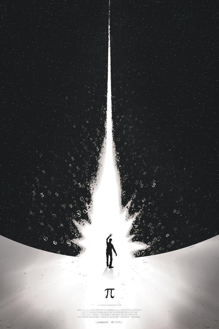 Pi alternative movie poster designed and illustrated by Jason Heatherly