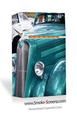 Classic Car cigarette case at www.smoke-screenz.com