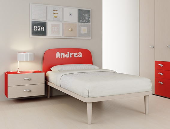 #Arredamento #Cameretta Moretti Compact: Catalogo Start Solutions 2013 >> LH23 #letto #armadio #comodino http://www.moretticompact.it/start.htm