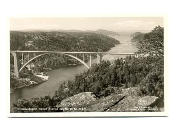 Svinesundsbron mellan Sverige och Norge