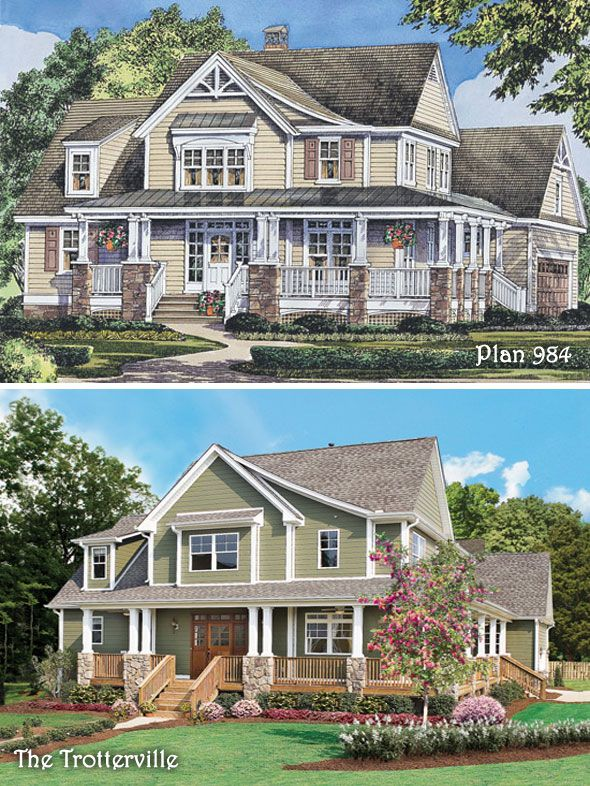 110 best Rendering to Reality  Completed images on Pinterest  Blueprints for homes House