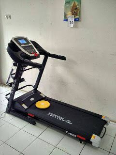 Toko Treadmill Purwokerto | Melayani COD | 0857-4263-5556: treadmill elektrik ISP 8066 3 fungsi