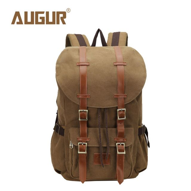Check it on our site AUGUR Brand New Fashion Backpacks Women Mens Designer Backpack Laptop Backpack Canvas School Bags HT100594 just only $28.37 with free shipping worldwide  #backpacksformen Plese click on picture to see our special price for you