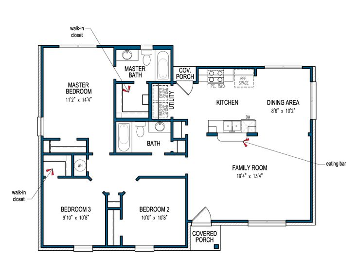 It's Floor Plan Friday! This week we are featuring the Velasco! As with all of our home plans, you can customize the Velasco to fit your personality, needs, and lifestyle. Check out the Velasco floorplan here or visit our website to view our large library of plans!  #TilsonHomes #floorplan #FloorplanFriday