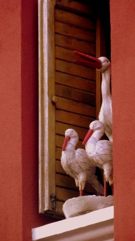 Storks..