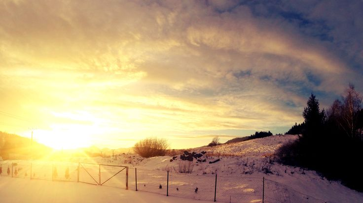 Sunset in Winter (GoPro) on PicsSAE  http://picssae.com?social-gallery-image=sunset-in-winter-gopro