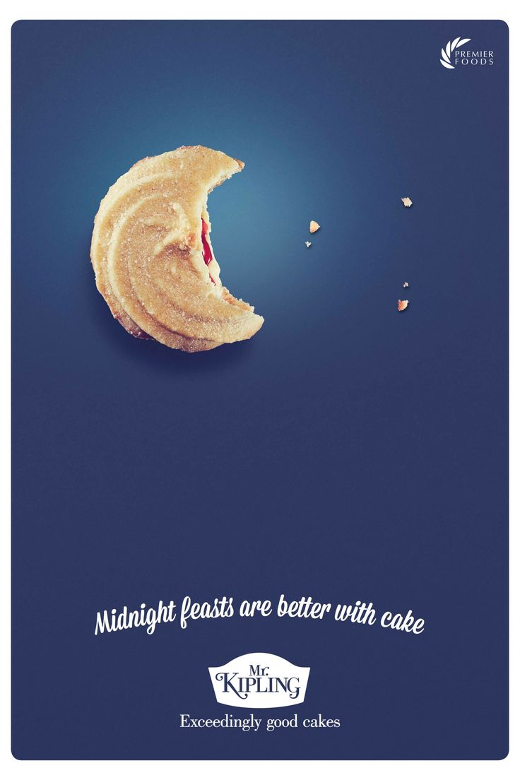 Mr Kipling Advertising Agency: J. Walter Thompson, London, UK Executive Creative Director: Russell Ramsey Creative Director: David Masterman Creatives: James Hobbs, Jeremy Little, Will Wright, James Lucking Photographer: James Day Designers: Chris Hutton Business Director: Brooke Curtis Senior Account Manager: Sophia Redgrave Account Executive: Theo Moran Project Manager: Sara Manca Art Buyer: Christine De Blangy Planner: Chris Bailey