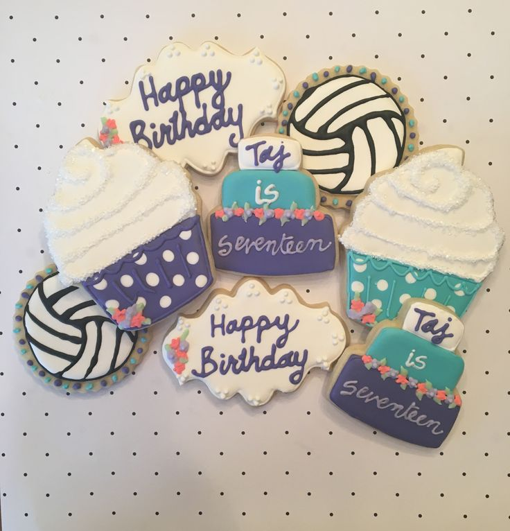 17 Best ideas about Volleyball Cookies on Pinterest ...