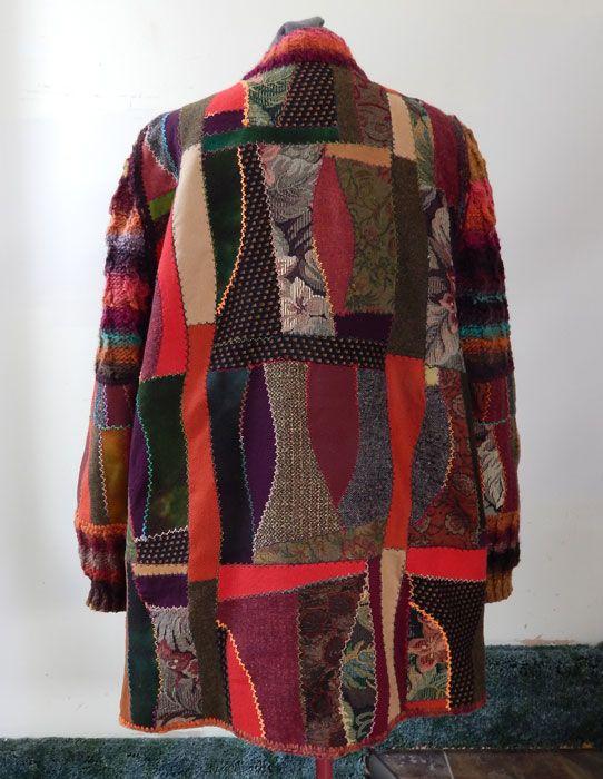 129 Best Patchwork Jacket And Coat Images On Pinterest