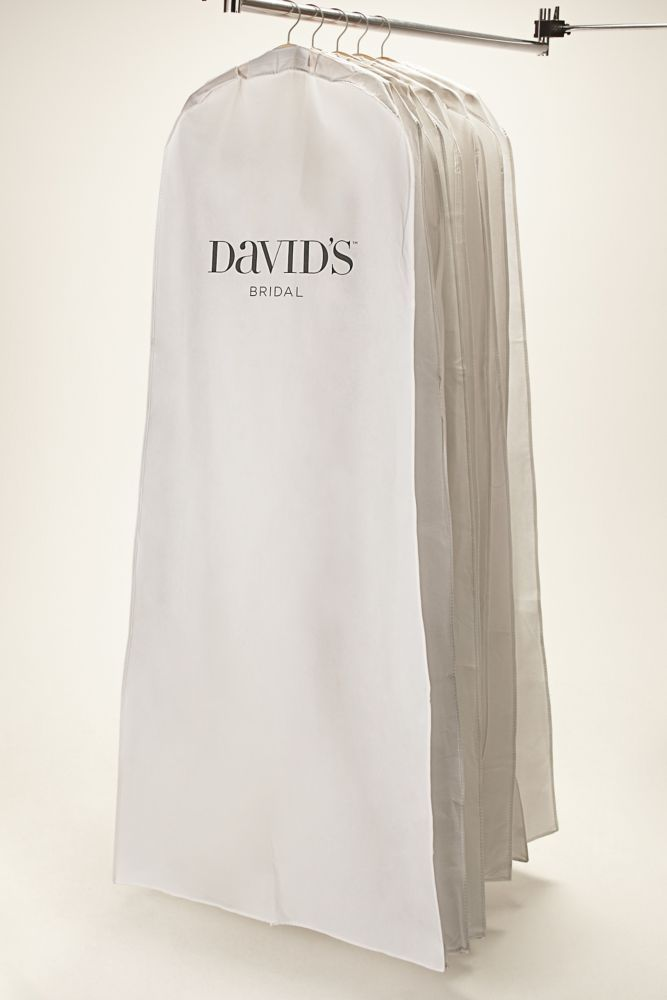 Wedding Dress White Side Zip Garment Bag