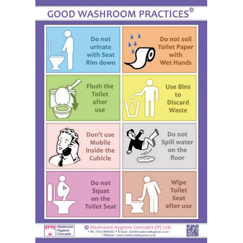 Bathroom Etiquette At Work - All About Bathroom