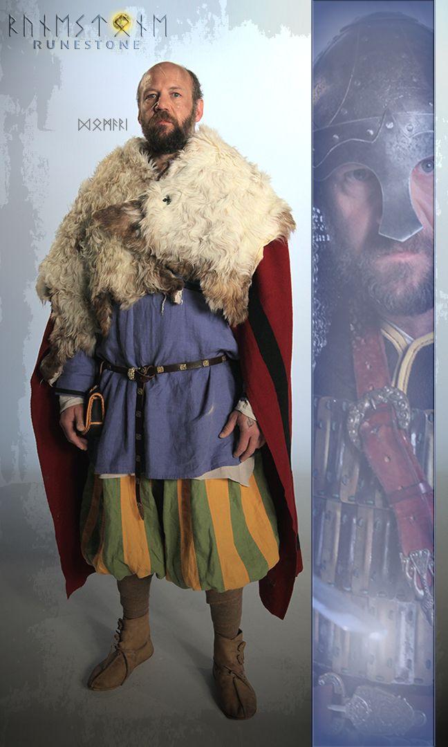 Vignettes: Domari, former Varangian Guard, and close friend / adviser to Styrkarr.
