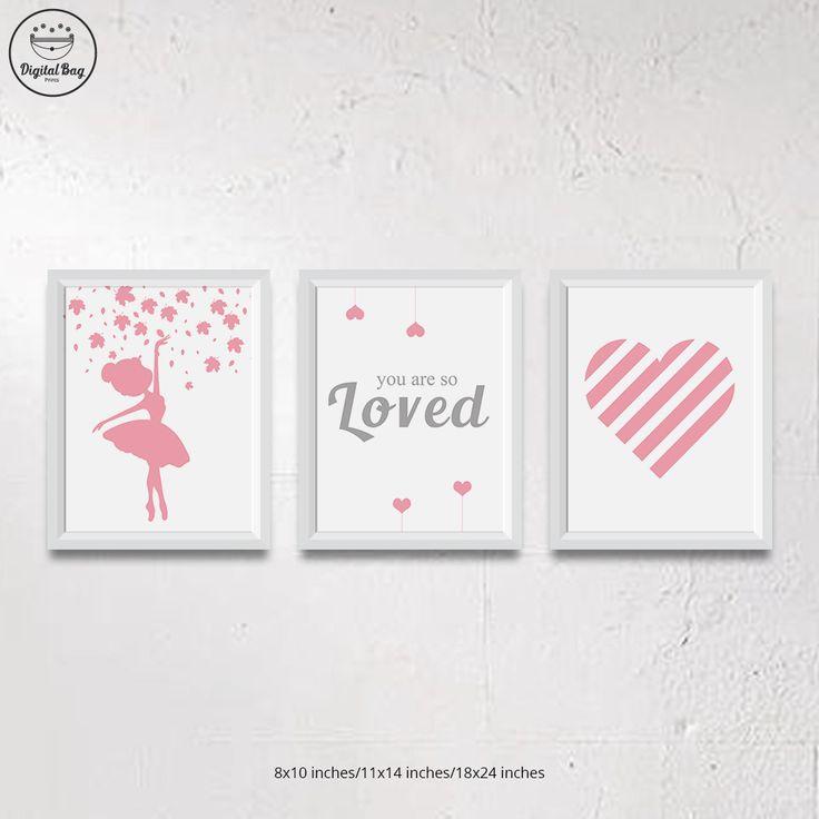 Baby Girl Nursery Art, Ballerina Nursery Decor, Ballerina Nursery Art, Pink, Ballerina Bedroom, Ballet Nursery Art, Ballerina Nursery Prints #baby_girl_nursery, #baby_girl_nursery_room_idea, #ballerina_nursery, #ballerina_nursery_decor, #ballerina_nursery_art, #ballerina_nursery_ideas, #pink_nursery, #pink_nursery_ideas, #pink_nursery_decor, #pink_nursery_walls, #baby_girl_gift, #nursery, #nursery_art, #nursery_decor, #nursery_art_print, #new_baby_gift, #playroom_art, #nursery_wall_art