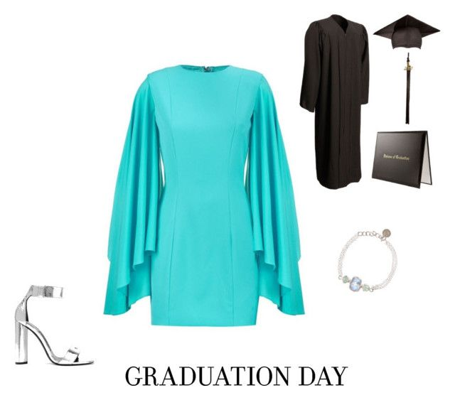 """""""Graduation Day"""" by trijak ❤ liked on Polyvore featuring AQ/AQ, Poppy Jewellery and Tom Ford"""
