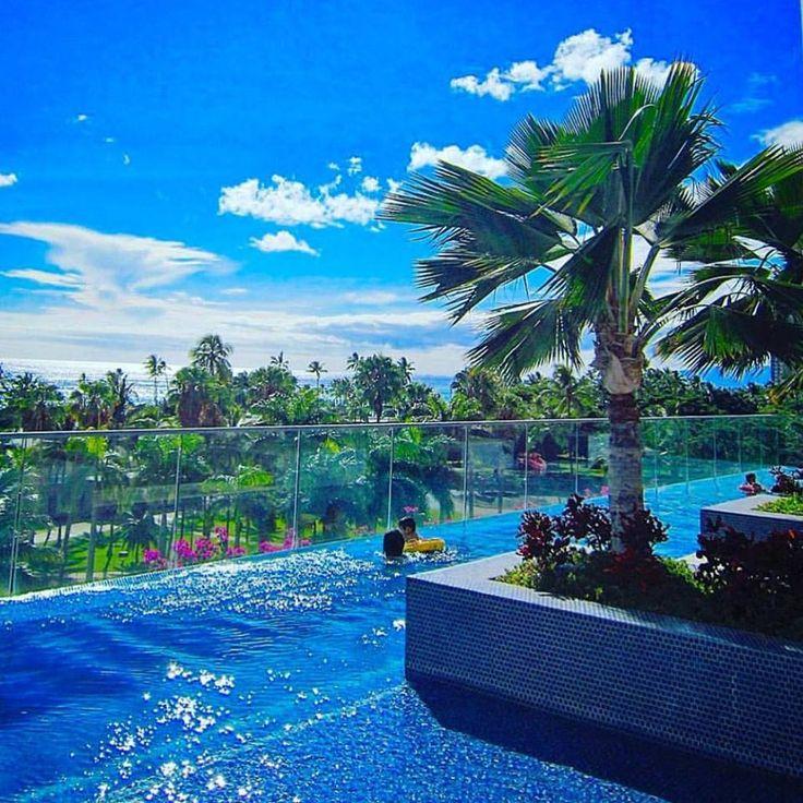 Gorgeous poolside views from the Trump Waikiki Infinity Pool.