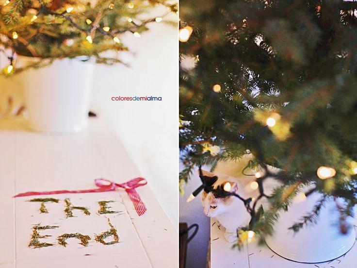 christmastree goodbye