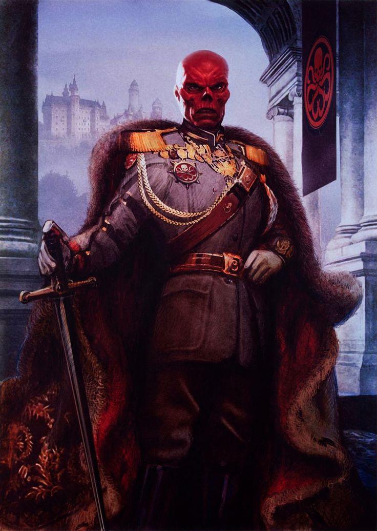 51 best marvel red skull images on pinterest marvel for Americas best paint