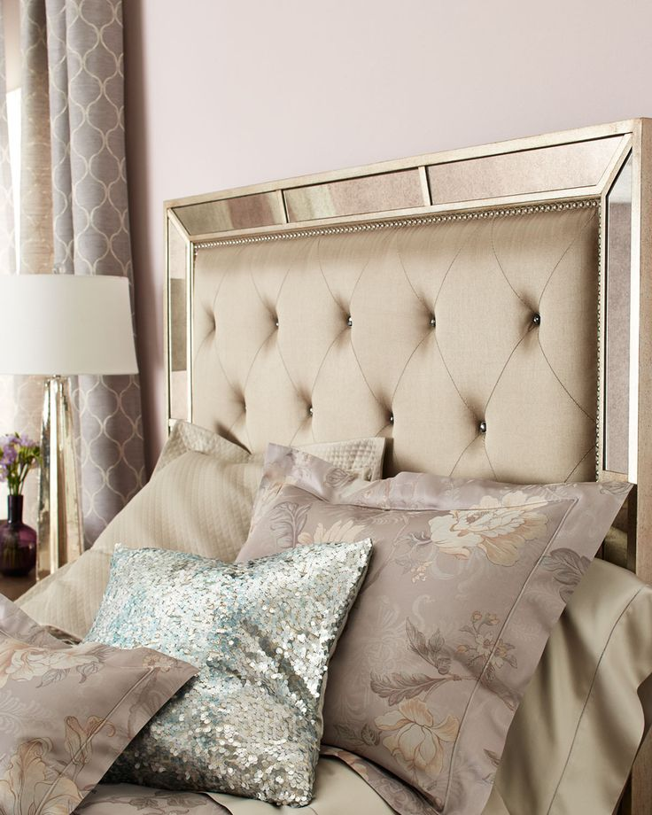 34 best mirror trim images on pinterest mirrored 12428 | 716f47525958771e1d5fb005033281aa california king beds tufted headboards