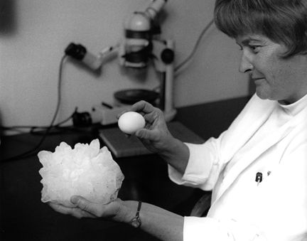 Largest hailstone on record that fell in Coffeyville KS in 1970 (1.67 pounds and spans 5.67 inches).