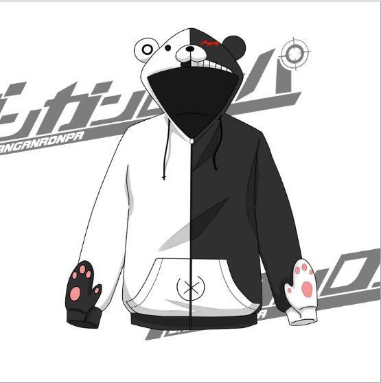 Ucuz Yeni 2017 Danganronpa Monokuma Ayı Sonbahar Bahar Karikatür Anime Hoodies Sweatshirt Ceket Cadılar Bayramı Için Cosplay Kostüm Kadın Erkek, Satın Kalite   doğrudan Çin Tedarikçilerden: Yeni 2017 Danganronpa Monokuma Ayı Sonbahar Bahar Karikatür Anime Hoodies Sweatshirt Ceket Cadılar Bayramı Için Cosplay Kostüm Kadın Erkek