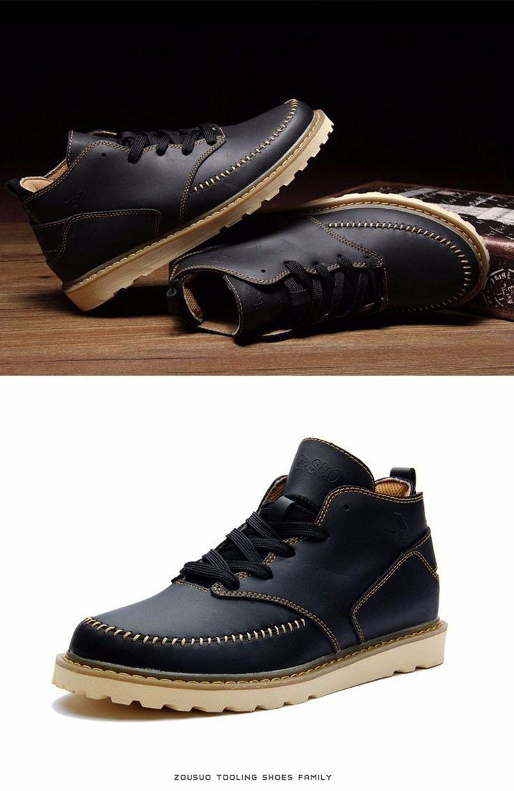 Men's Martin boots Cowboy Army Boots Combat Boots Botas Militares Rain Boots  Size39 44 ASM92-