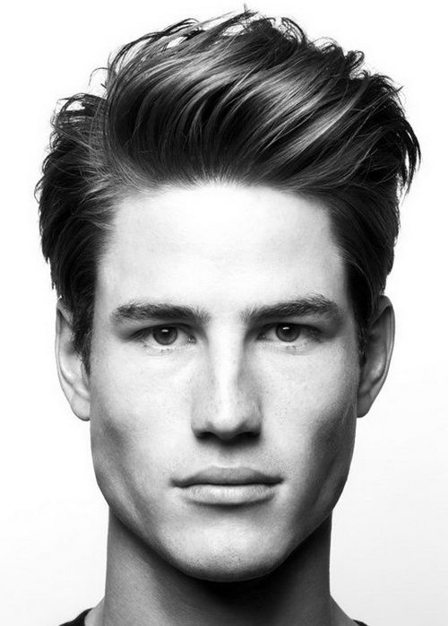 The American Jock's American Crew Mens Hairstyles 2014 with Heavy Accents on Top