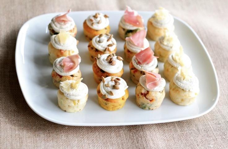 Yummmmm. #Ghermez savoury #cupcakes