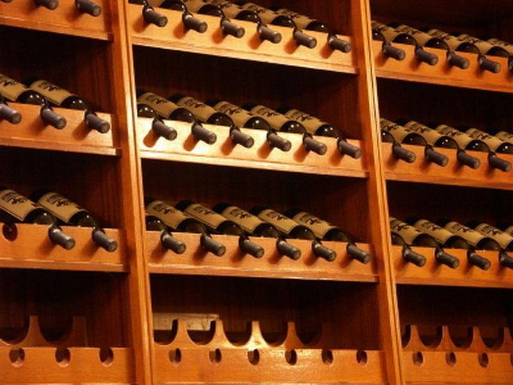 Wooden Cool Wine Rack