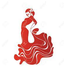 Resultado de imagen de dibujo flamenca bailando
