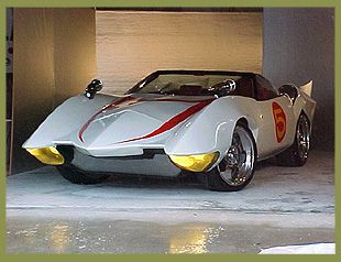 Mach 5 Car from Speed Racer, this is one of my dream cars