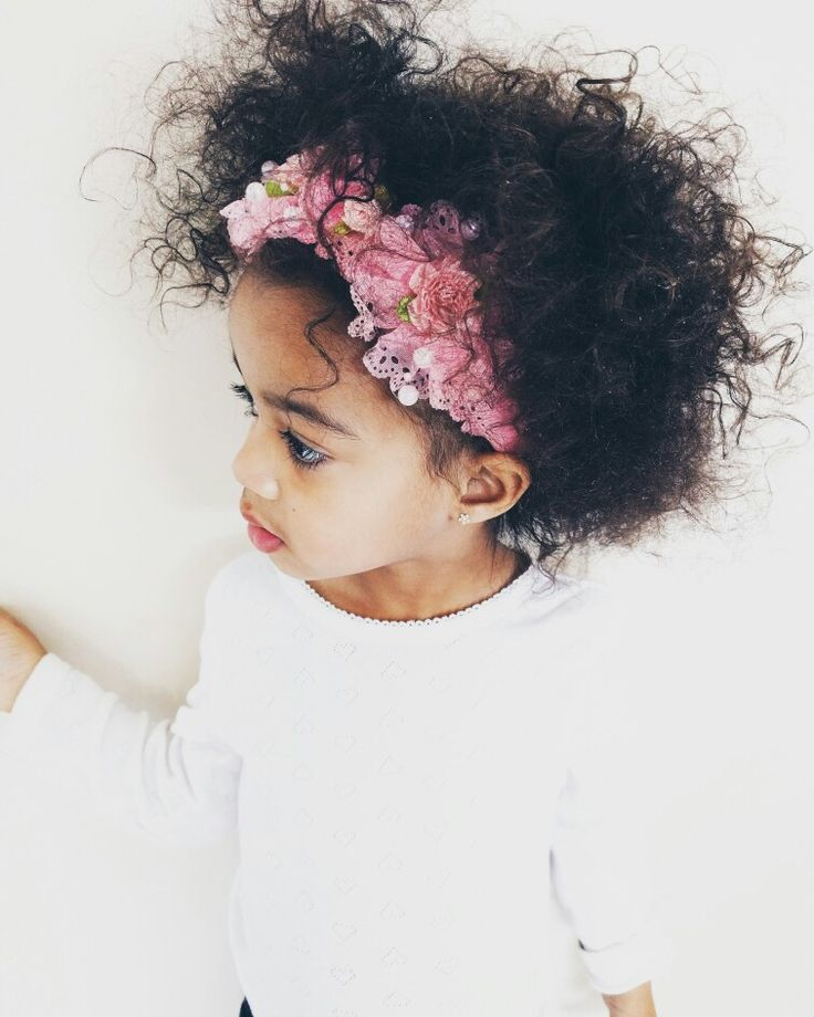 Mixed baby 😍 Natural hair 👌