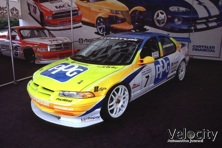 Dodge #Stratus as seen in the 1996 and 1997 North American Touring Car Championship.