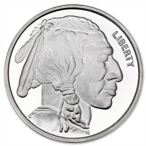 Buy 1 Oz Silver Buffalo Rounds Online Money Metals Silver Spot Price Silver Buffalo