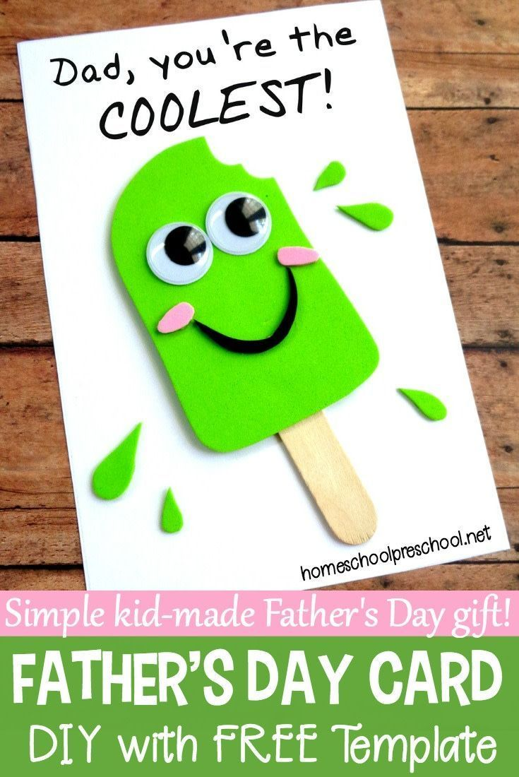 Easy Diy Fathers Day Craft That Your Kids Can Make Cct Crafts