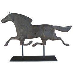Dexter Horse Weather Vane on Iron Base