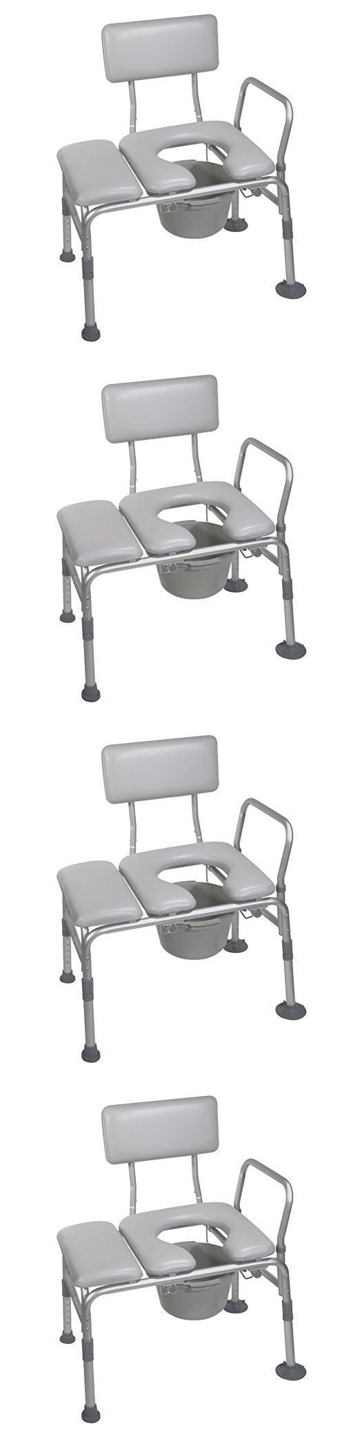 Shower and Bath Seats: Nw Handicap Padded Seat Transfer Chair Bench Commode Toilet Bath Room Shower Tub -> BUY IT NOW ONLY: $199.99 on eBay!
