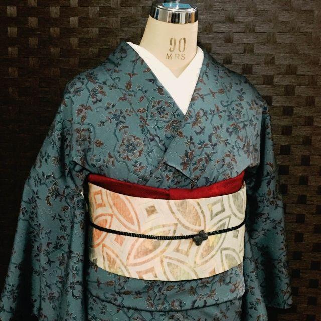 大阪・空堀のリサイクル着物ショップ 月輪屋着物と雑貨てて リサイクル着物 used着物 カジュアル着物