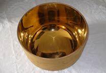 Campana Oro satinato Classico / Abbondanza Divina