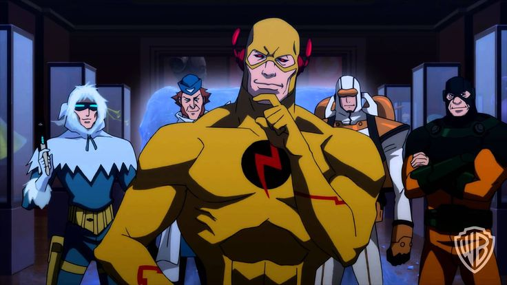 From the animated movie, Flashpoint Paradox