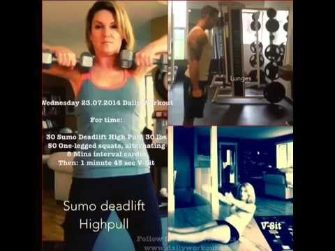 Wednesday 23.07.2014 Daily Workout