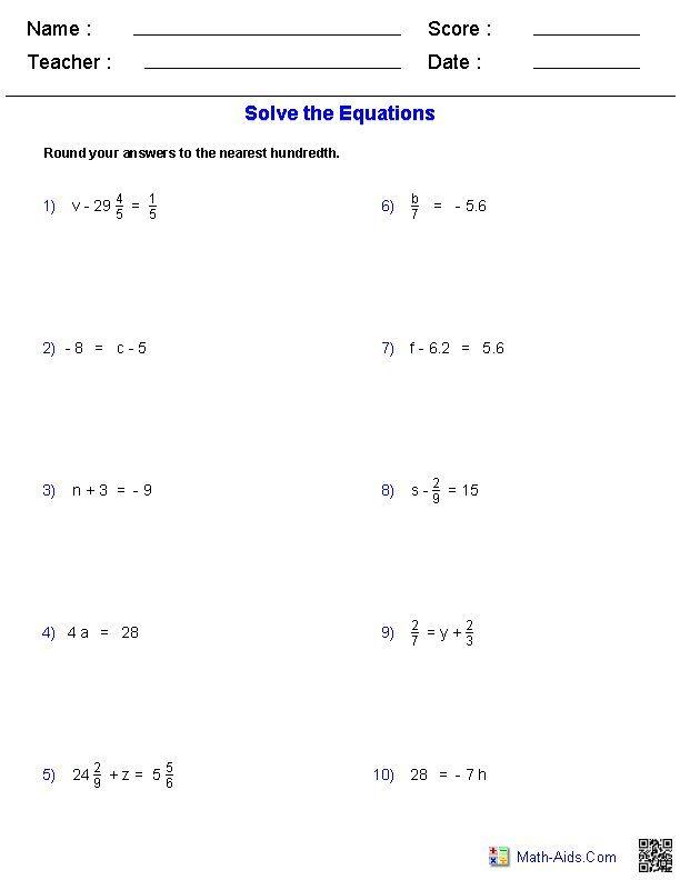 21 5th Grade Algebra Worksheets Algebra 1 Worksheets Algebra Worksheets 8th Grade Math Problems Word Problem Worksheets