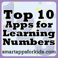 Top 10 Apps for Learning Numbers (plus a few bonus top apps)