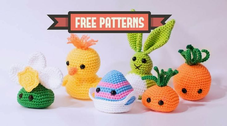 Funny Easter Amigurumi made by DenDennis #freepattern #gratispatroon